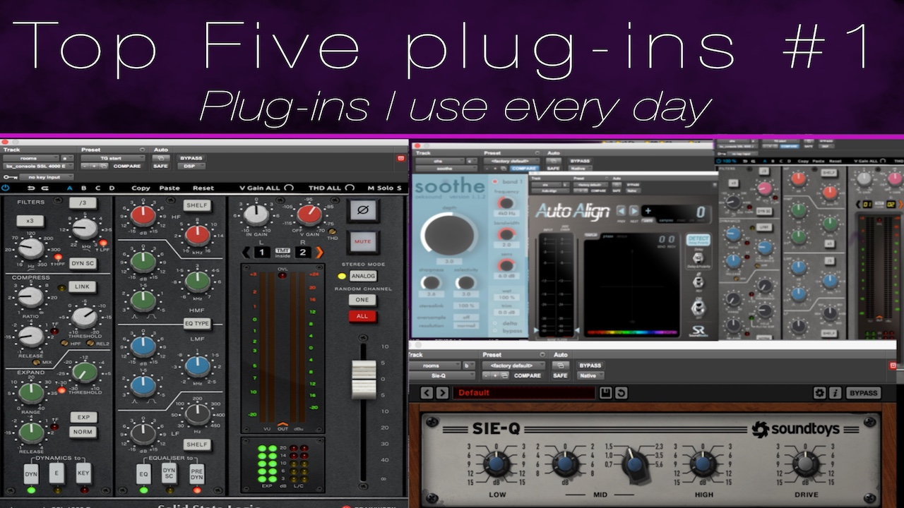 Top 5 Plugins To Use Every Day