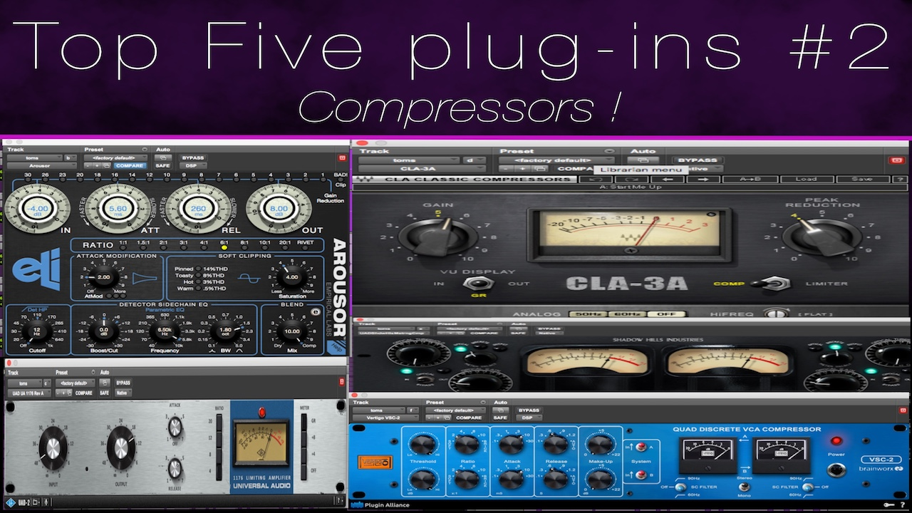 Top 5 Compressor Plugins