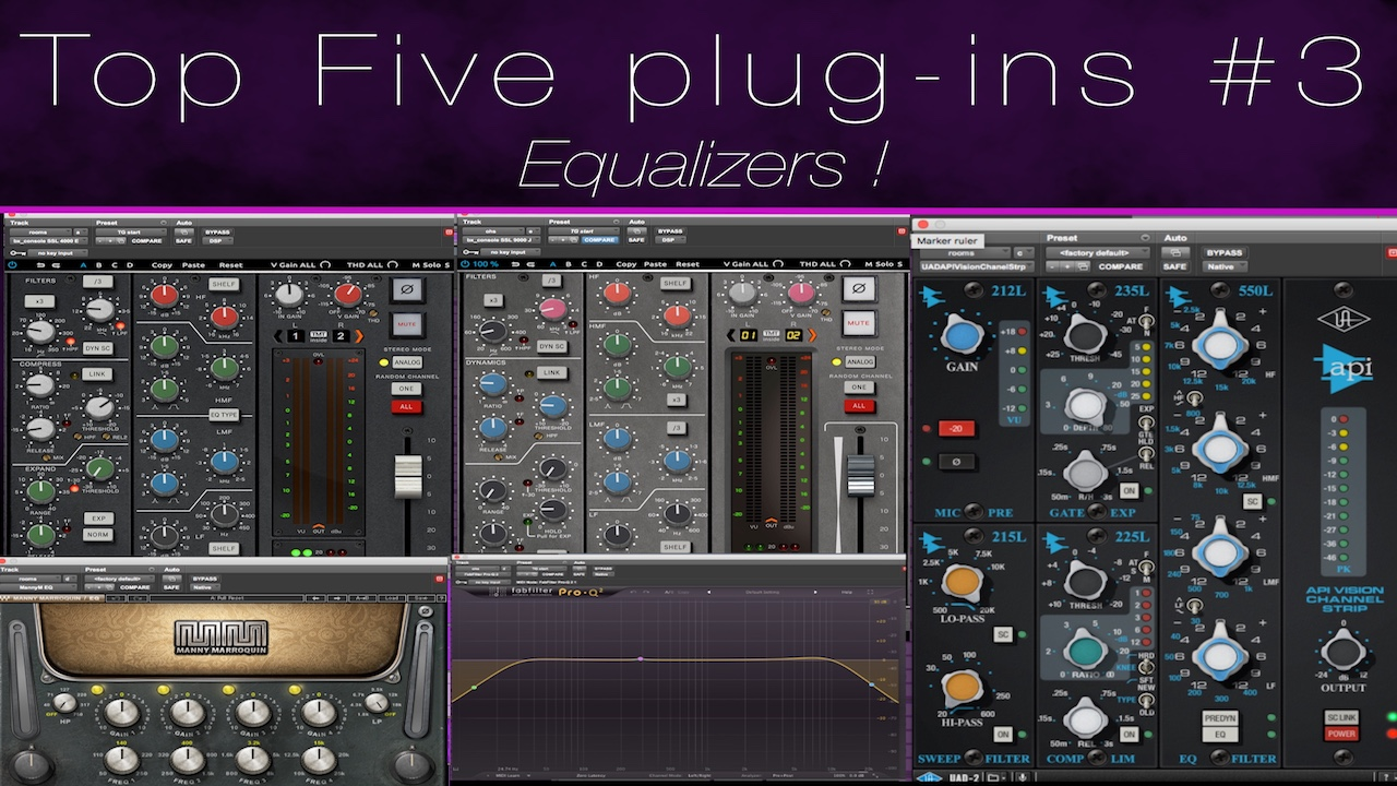 Top 5 EQ Plugins