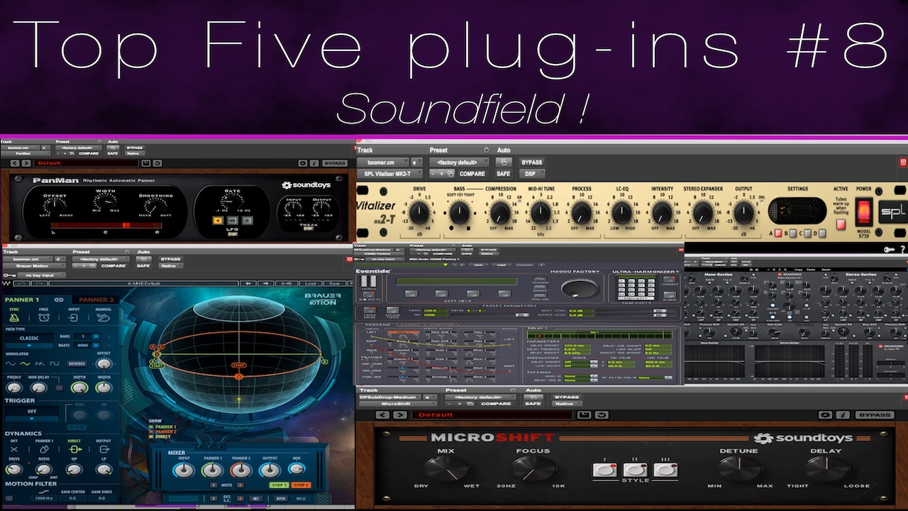 Top 5 Sound Field Plugins